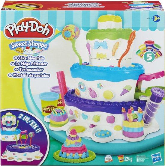 play doh taart bol.| Play Doh Cake Mountain   Klei, Hasbro | Speelgoed play doh taart