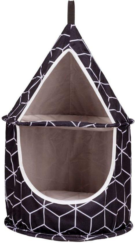 TRIXIE Kattenknuffelgrot Hanka 35 x 60 cm zwart 43513
