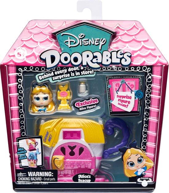 Disney Doorables - Mini display set - Alice's Theekopje