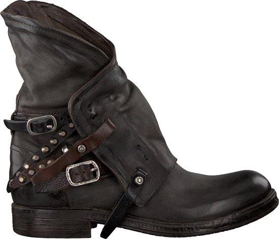 A.S.98 Dames Biker Boots 207235 - Grijs - Maat 37