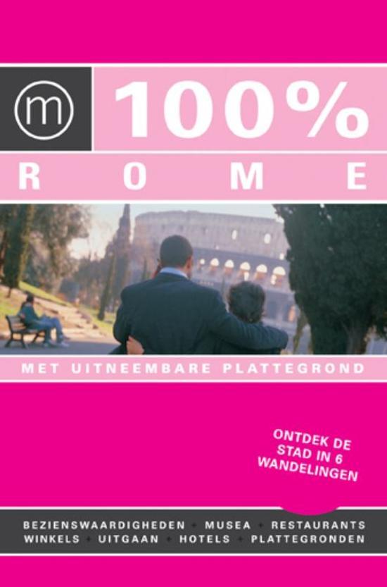 Boek cover 100% Rome / Druk Heruitgave van Irene de Vette (Paperback)