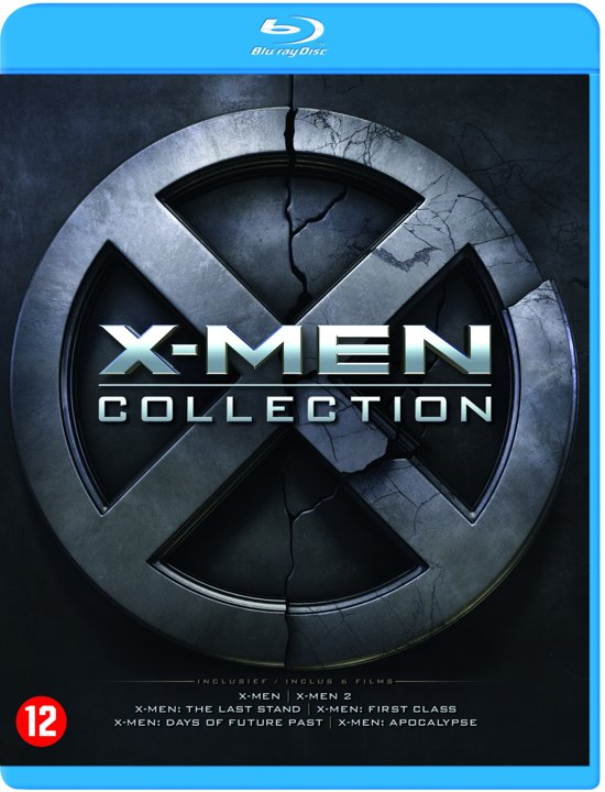 DVD cover van X-MEN - Collection (1 t/m 6) (Blu-ray)