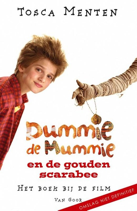 Dummie de mummie - Dummie de mummie en de gouden scarabee