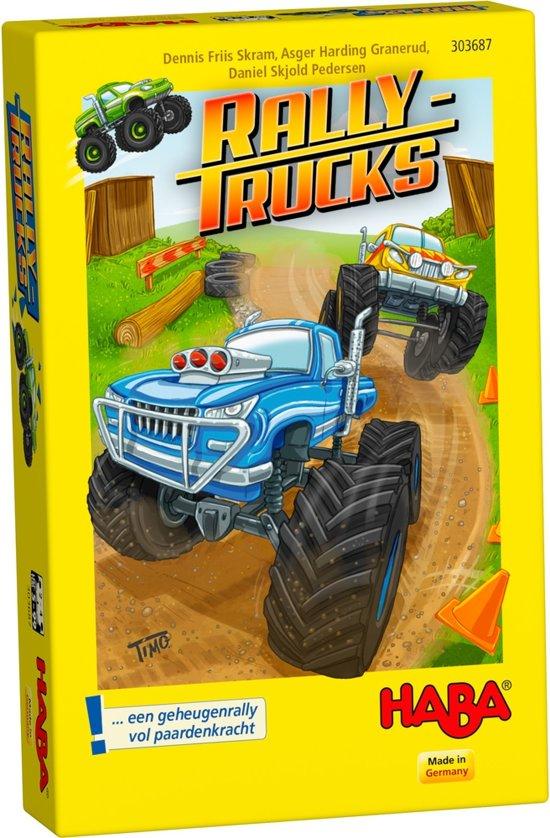 Haba - Spel - Rallytrucks