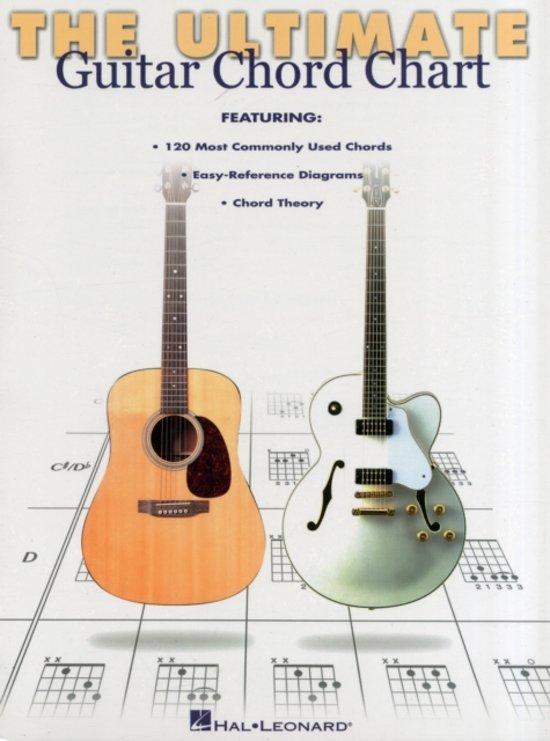 Bol Ultimate Guitar Chord Chart Hal Leonard 9780634000287