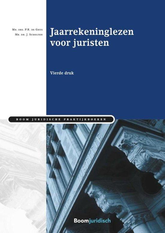 Boom Juridische praktijkboeken Jaarrekeninglezen voor juristen