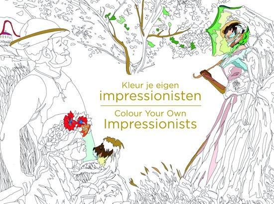 Kleur je eigen impressionisten