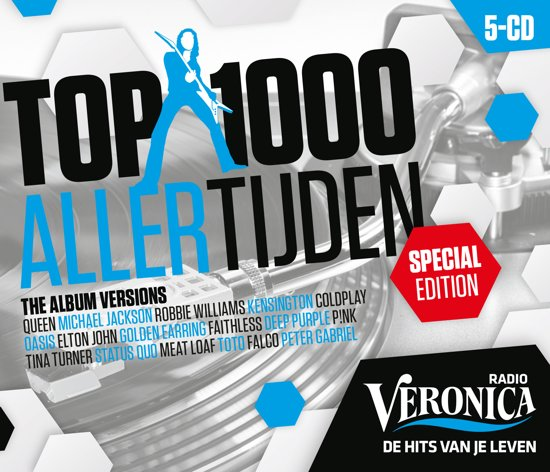 Veronica Top 1000 Allertijden - 2016