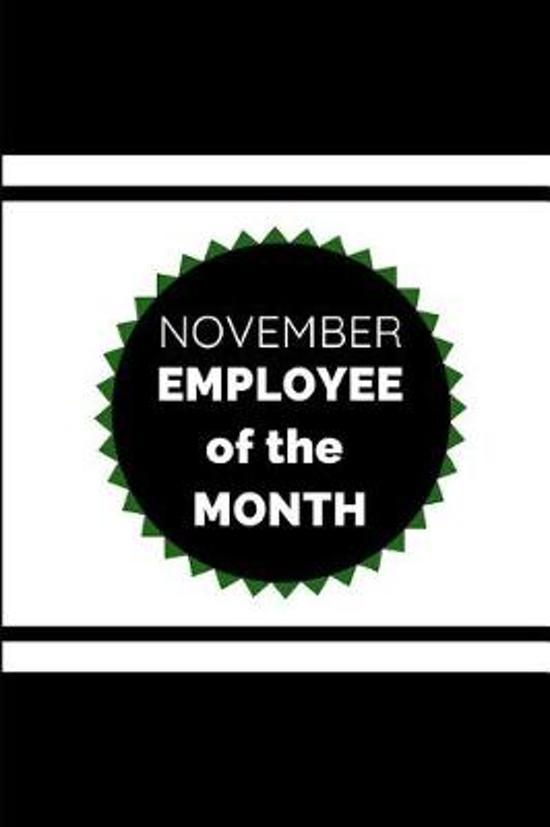 November Employee of the Month