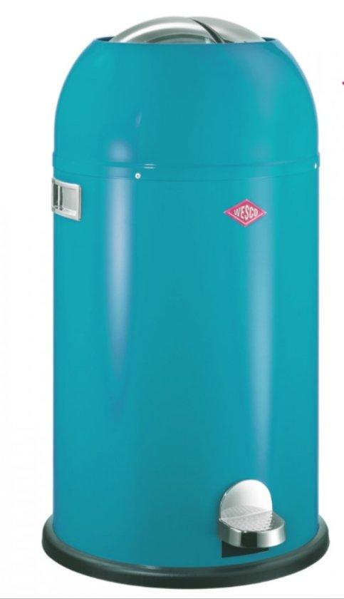 wesco kickmaster pedaalemmer 33l turquoise. Black Bedroom Furniture Sets. Home Design Ideas