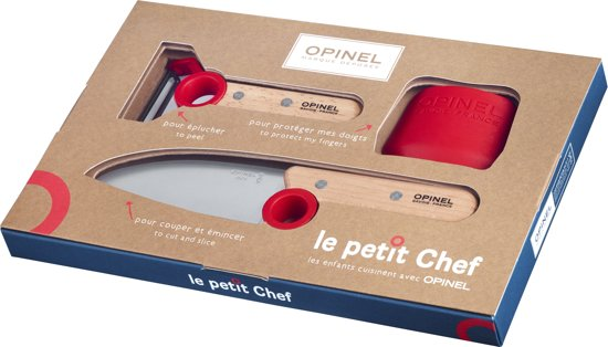 Opinel Le Petit Chef messenset