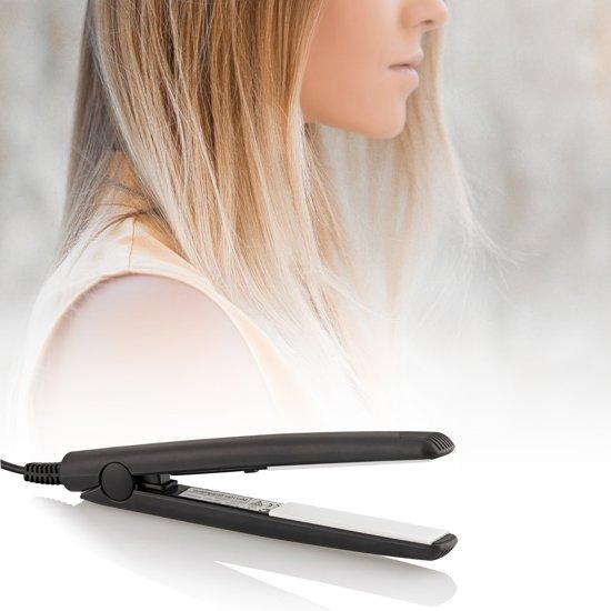 Qualilux -  Stijltang - mini straightener in praktisch reisformaat - verkrijgbaar in verschillende kleuren