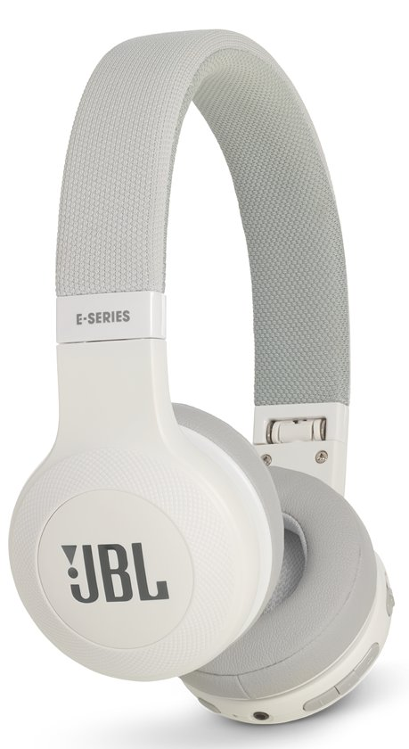 JBL E45BT - Draadloze on-ear koptelefoon - Wit