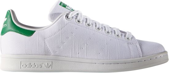 adidas stan smith dames wit groen