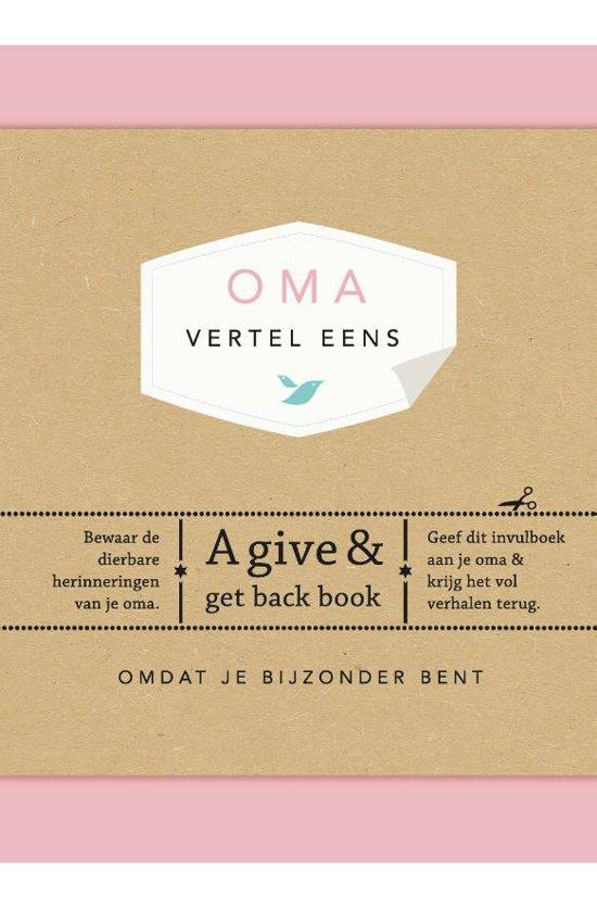 Bolcom Vertel Eens Oma Vertel Eens Elma Van Vliet