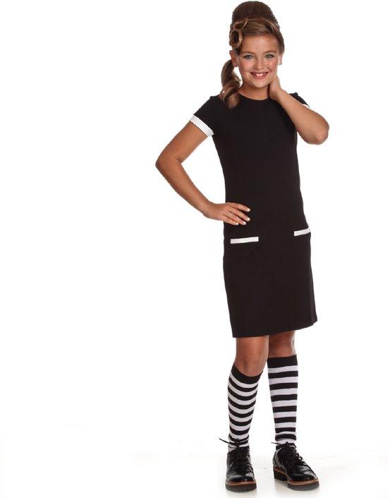 Zwart jurkje 134