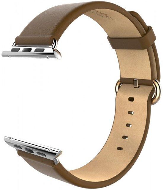 Hoco Luxe Classic Lederen Watch band Apple Watch (42mm) - Bruin