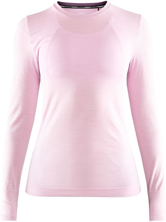 Fuseknit Craft Comfort Melange Thermoshirt Zip DamesMisty hQCdtBxsro
