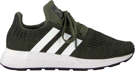 f53ee5dcf5e bol.com | Adidas Meisjes Sneakers Swift Run C - Groen - Maat 28