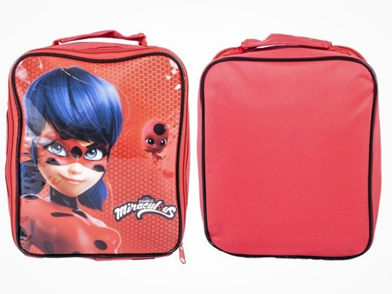 Miraculous Ladybug Lunchtasje met Isolatie Lunch School Tas