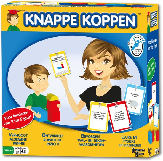 Knappe Koppen - Bordspel