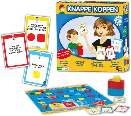 Thumbnail van een extra afbeelding van het spel Knappe Koppen - Bordspel