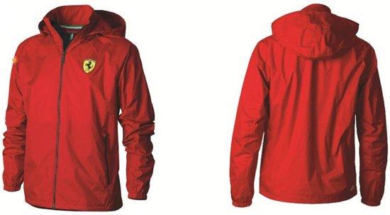 Ferrari JackMaat Windbreaker Rood M Kleur QhtsCrd