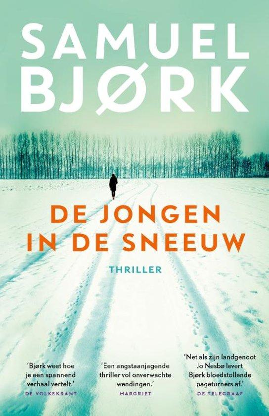 Boek cover De jongen in de sneeuw van Samuel Bjørk (Paperback)