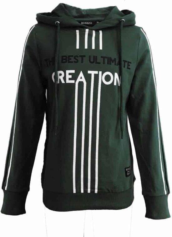 Ronizo sweater Jason - 128 - GroenWit