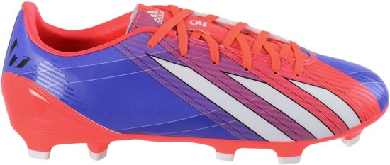 adidas F10 TRX FG Messi  - Voetbalschoenen - Mannen - Maat 43 1/3 - Paars/Roze/Wit