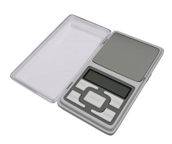 KRUMBLE Nauwkeurige Weegschaal | 0,01 gram precisie weegschaaltje tot 200 gram | Perfect voor o.a. kruiden, goud & juwelen