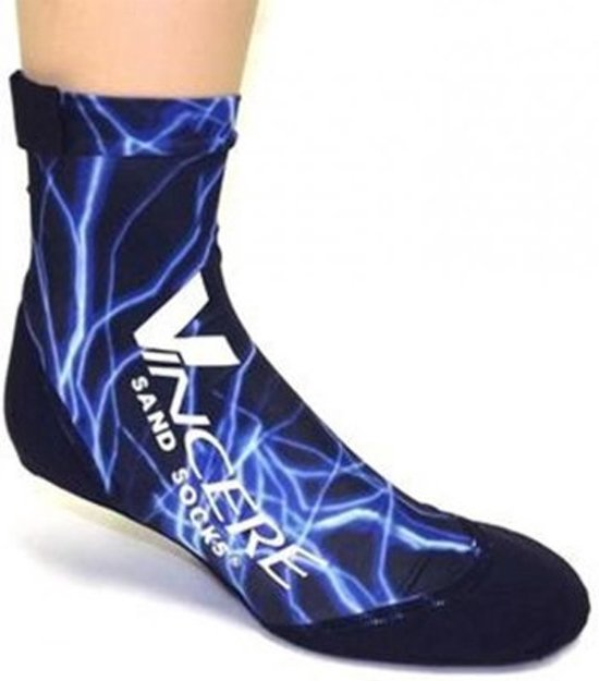Vincere Sandsocks Blue Lightning maat M