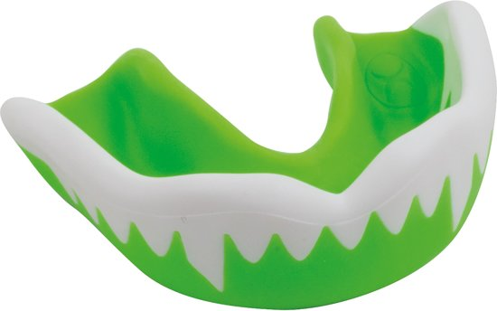 Gilbert Mouthguard Viper Grn/Wht Jun