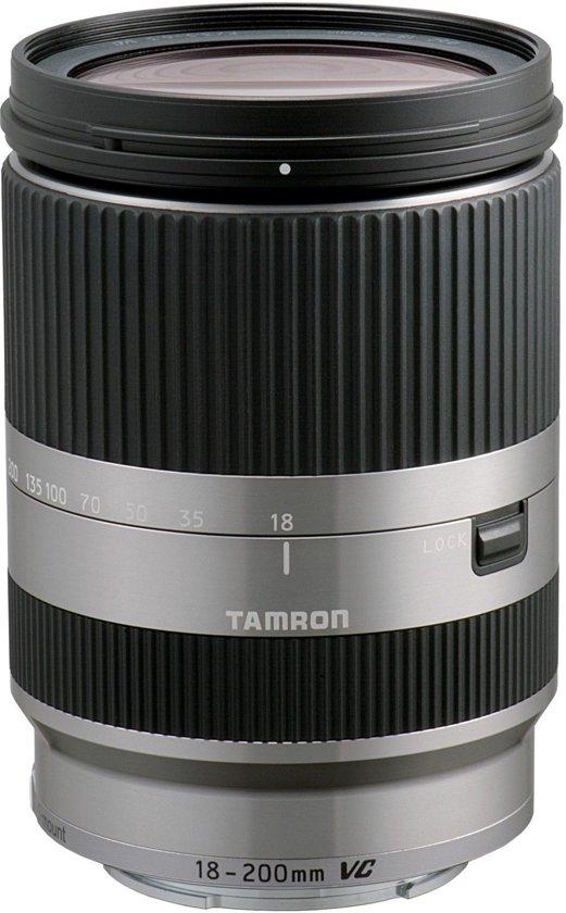 Tamron AF 18-200mm - F3.5-6.3 Di III VC - superzoom lens met macro functie - Geschikt voor Canon - Zilver in Nadrin