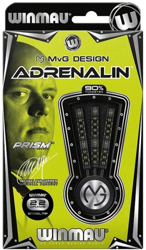 Winmau Michael van Gerwen Adrenalin 90% tungsten steeltip dartpijlen