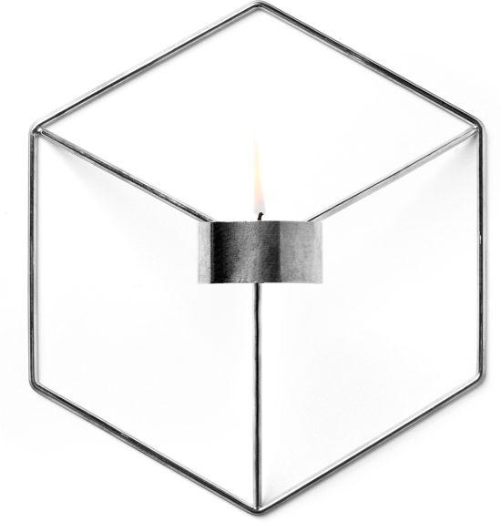 Menu POV Wall kaarsenstandaard chroom