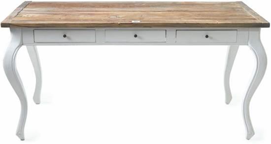 Houten Bureau 160 Cm.Bol Com Riviera Maison Driftwood Office Desk Bureau 160 X 80