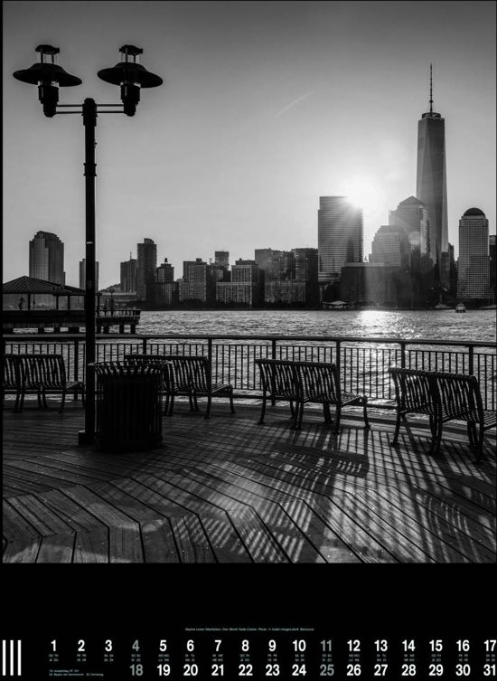 New York 2018 Posterkalender