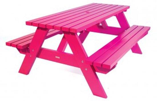 Luxus picknicktafel casual 180 cm roze - Tafel roze kind ...