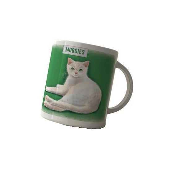 Koffie mok witte kat