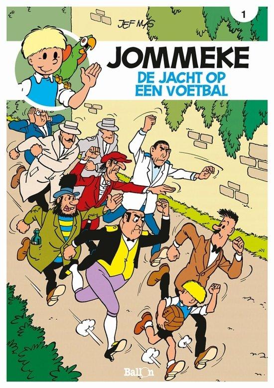 Bol Com Jommeke 001 Jacht Op Een Voetbal Jef Nys