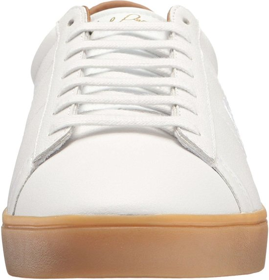 Leather Perry Maat Sneakers Wit Heren Spencer Fred Mannen 42 EOnAqq
