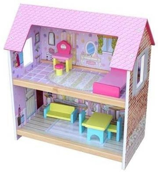 Playwood Poppenhuis Roze