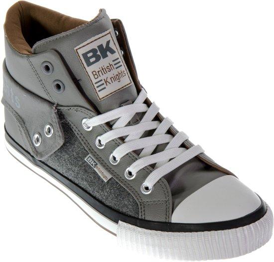 Chevaliers Britanniques Chaussures De Sport - Hauts Roco Taille 38 - Unisexe - Noir / Blanc fPtP4G8K