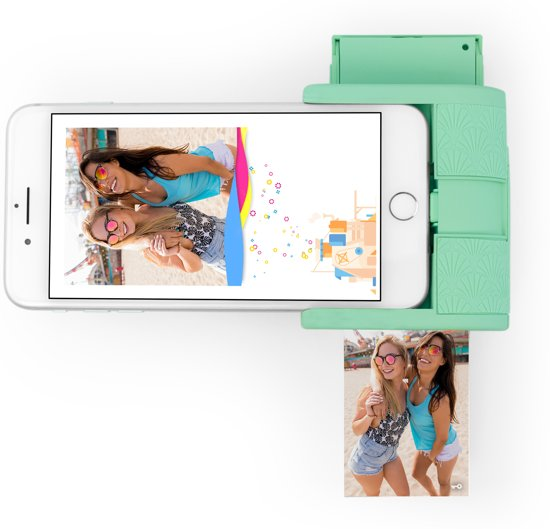 Prynt Pocket Foto Printer iPhone - Mintgroen
