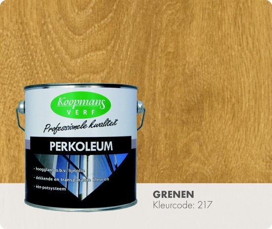 Koopmans Perkoleum - Transparant - 2,5 liter - Grenen