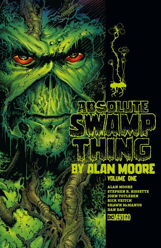 Boek cover Absolute Swamp Thing by Alan Moore Volume 1 van Alan Moore (Hardcover)