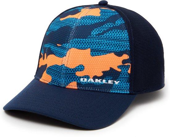 Oakley Silicone Bark Trucker Print 2.0 Cap - maat S   M - Neon Orange ba51fcfbfbe0