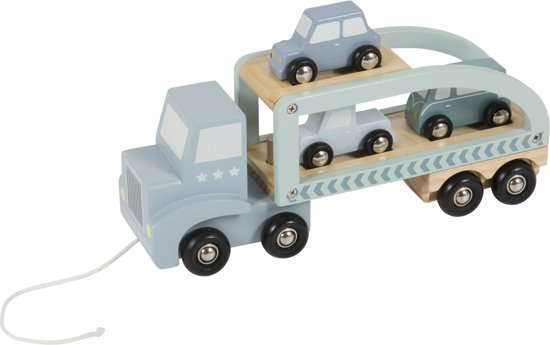 Little Dutch Houten Truck Mint
