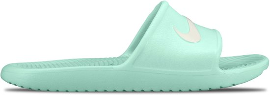 low priced af596 3a3f8 Nike Kawa Slippers Dames Slippers - Maat 40.5 - Vrouwen - groenwit